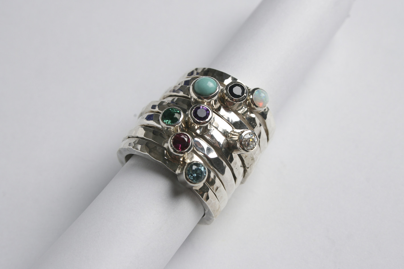 Cleaning Silver Ring With Gemstone