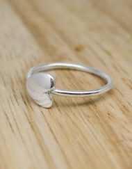 Silver heart ring | Starboard Jewellery
