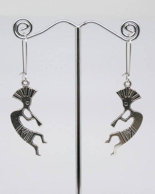 Kokopelli fertility dance earrings - Native American