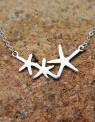 Dancing starfish pendant