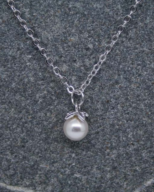 Pearl drop necklace 1
