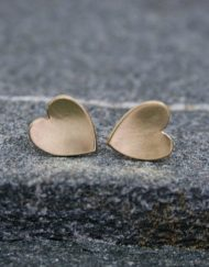 Small heart stud earrings | Starboard Jewellery (1 of 1)