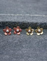 daisy stud earrings | Starboard Jewellery