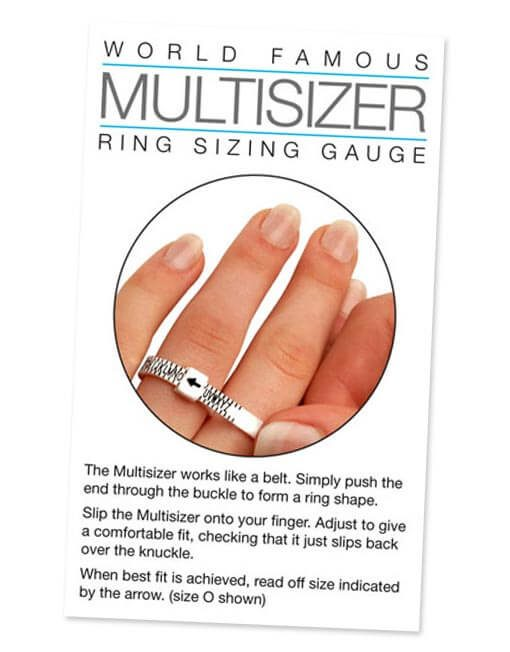 Ring size tool