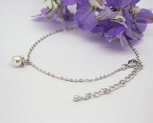 Single Drop Pearl Bracelet 1