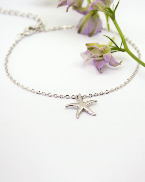 Starfish charm bracelet